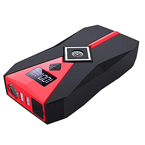 LVYE1 MRMF 12800 Mah Arrancador De Coche, Amplificador De Batería De Coche Saltar El Arrancador, Emergencia Cargadores De Batería Inteligentes, Puertos USB Duales con LED