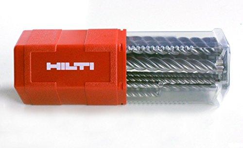 Hilti Hammerbohrer TE-CX (12) L2 Bohrersatz 6-16mm mit SDS-Plus Schlagbohrer Steinbohrer Bohrerset Betonbohrer Bohrer
