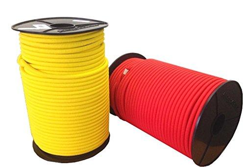 Expander corde cordon 6mm corde élastique en caoutchouc Expander corde 10M–100m pour bâche Camion réseaux Tentes Plaques de recouvrement
