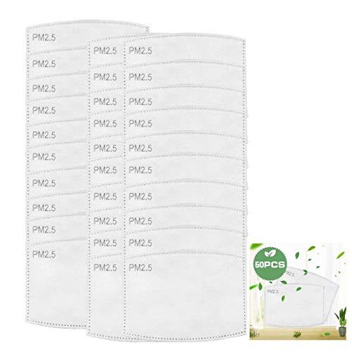 10/20/30/50/100 PM2.5 Austauschbare Filter für Erwachsene und Kinder