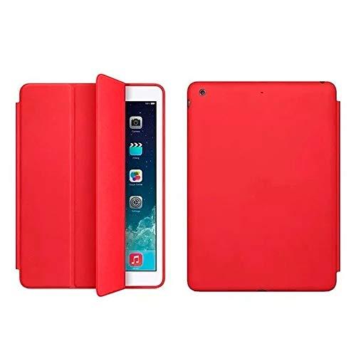 Capa Case Smart Cover Para Ipad 5 (2017) 9.7 A1822 A1823 Cor:Vermelho