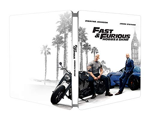 Fast & Furious: Hobbs & Shaw - Steelbook 4K Ultra Hd (2 Blu Ray)