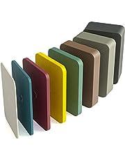 INNONEXXT® Premium onderlegplaten | 60 x 40 mm | afstandhouder, plaatjes van kunststof | draagvermogen tot 5 t | set: 1.5, 2, 3, 4, 5, 10, 15, 20 mm