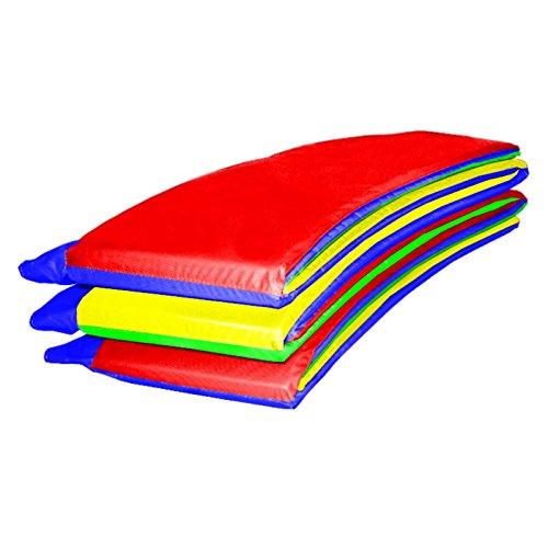 Baunsal GmbH & Co.KG Randabdeckung Federabdeckung Randschutz Abdeckung Multicolor für Trampolin 427 bis 430 cm
