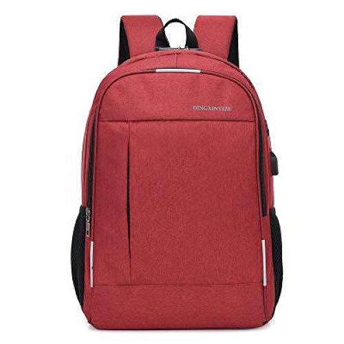 Anti-Diebstahl-Rucksack, Canvas, Herren-Rucksack, Laptop-Schultertasche, Kopfhörer-Stecker, für Jugendliche, Schule, Studenten, Rucksäcke