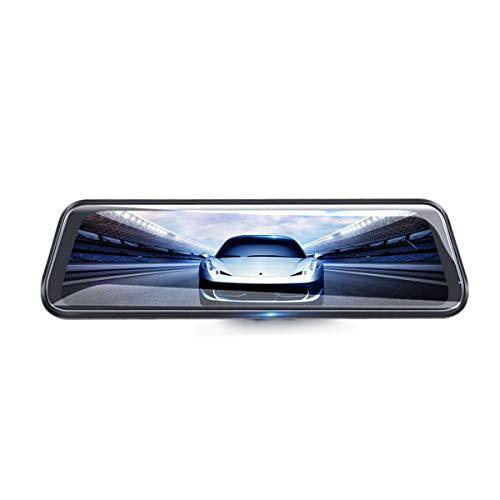 C-FUNN 25,4 cm (10 Zoll) Junsun Dual Lens FHD 1080P Dashcam Auto DVR Rückspiegel Rückfahrkamera