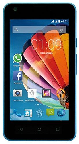 Mediacom M-PPCG415 PhonePad, Dual SIM, 4 GB, Blu