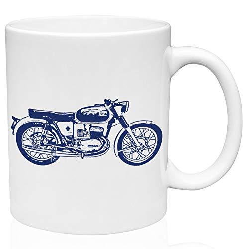 Bultaco mercurio 155 11oz Taza de café de cerámica de alta calidad