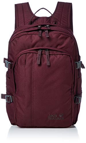 Jack Wolfskin Kinder Berkeley S Rucksack, Port Wine, ONE Size