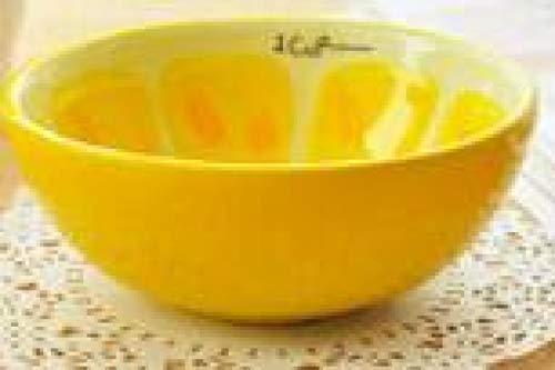 Cuenco de frutas lindo cuenco pintado a mano para niños sandía cerámica...
