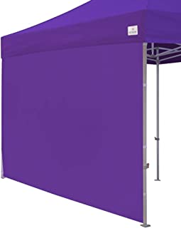 Keymaya Instant Canopy SunWall for 10x10 Feet, 10x20 Feet Straight Leg pop up Canopy, 1 Pack Sidewall Only (Purple)