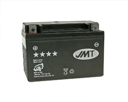 JM-Products Batterie JMT Gel JMTX9-BS - Verkaufspreis inklusive 7,50 EUR gesetzlicher Batteriepfand