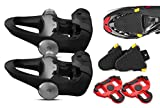 Garmin Vector 3S Clipless Pedal-Based Power Meter with Road Clete Protective Covers (2-Pack) Bundle | Cycle Power Meter, Road Bike Cletes, Cadence/Power Output Metrics