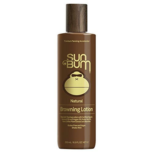 Sun Bum Browning Lotion   Vegan and Reef Friendly (Octinoxate & Oxybenzone Free) Sun Tanning Cream with Aloe Vera   8.5 oz