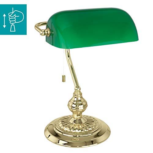 EGLO BANKER lampada da tavolo Ottone E27 60 W