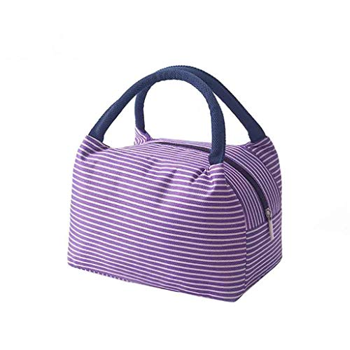 Newest Arrivals! Insulated Thermal Lunch Bag, Food Storage Bag Portable Travel Working Bento Box by Celucke