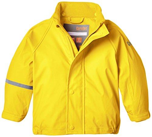 CareTec Kids waterproof Rain Jacket, Yellow, 3 Years