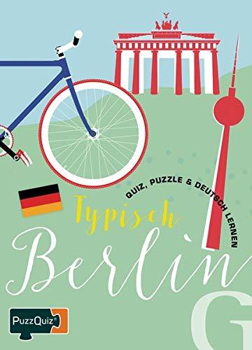 PuzzQuiz - Typisch Berlin: Quiz, Puzzle & Deutsch Lernen / Sprach- und Reisespiel