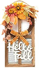 Esoteric Maven Hello Fall Farmhouse Autumnal Harvest Wall Décor
