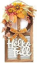 Esoteric Maven Hello Fall Farmhouse Autumnal Harvest Wall Décor