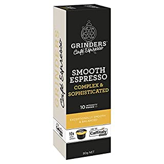 Grinders Coffee Caffitaly Compatible Capsules, 80 Smooth Espresso Capsules (B07YBZTB7Z)   Amazon price tracker / tracking, Amazon price history charts, Amazon price watches, Amazon price drop alerts