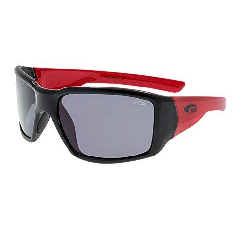 GOGGLE Kindersonnenbrille für Jungs polarisierend und ultraflexibel E962-1P