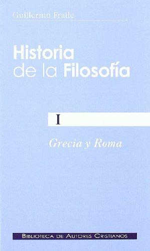 Historia De La Filosofía I. Grecia Y Roma: 160 (NORMAL)