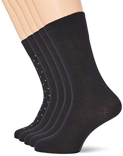 Schiesser Herren Multipack 5 Pack Herrensocken Strümpfe Socken, Sortiert 7, 39-42 EU