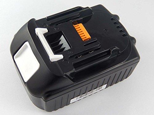 INTENSILO Akku passend für Makita Makita DHP458, DHP458RF3J, DHP458RMJ, DHP458RTJ, DHP458Z, DHP458ZJ Elektro Werkzeug (5000mAh, 18V, Li-Ion)