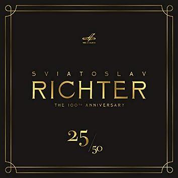 Святослав Рихтер 100, Том 25 (Live)