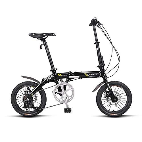 ZXCTTBD Unisex Bicicleta Plegable,First Class Urbana Bici Plegable,Adulto Folding Bike con Doble...