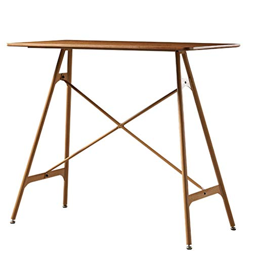 WFFF Modern Office Computer Desk Home-Office Table Large Workstation,Wood Desk Laptop Bed Table,for Small Spaces Home Office Bedroom,rustic Brown Desks