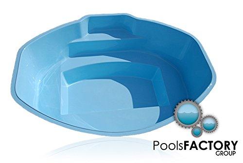 Schwimmbecken Ozzy aus GFK Minibecken