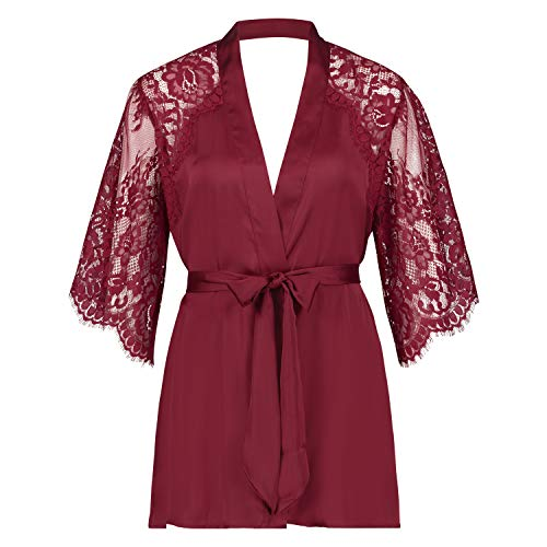 HUNKEMÖLLER Kimono Jennifer Rot XL/XXL