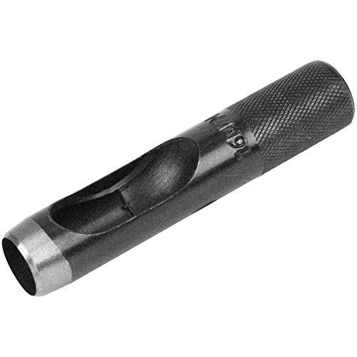 SK11 穴あけ工具 皮ポンチ 穴径16mm 皮・ビニール・ゴム・厚紙用 奥行2×高さ10×幅2cm