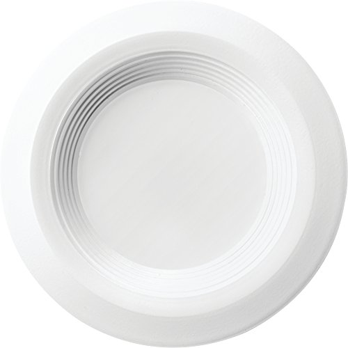 "Lithonia Lighting RD 30K 90CRI MW M6 3JBK Canless Kit 3"" Baffle, Round, 3000 K, 90 CRI, Matte white, 3-inch"