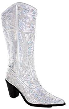 Best sequin cowboy boots Reviews