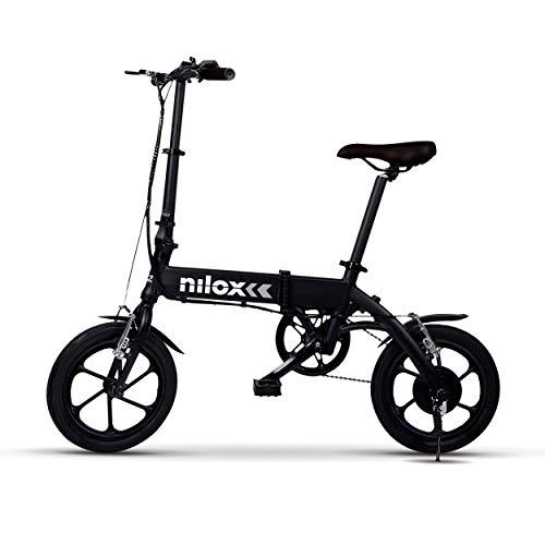 Nilox E-Bike X2 Plus, Elektrofahrrad, Schwarz, One size