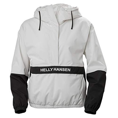 Helly Hansen Damen P&C Rain Anorak Pullover, Nimbus Cloud, L