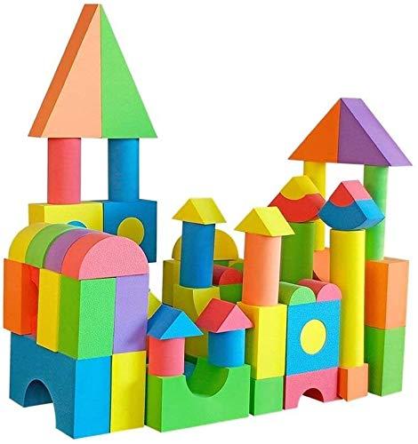 X&J Schaum Bausteine Montage Software Kindergarten Puzzle Kinderspielzeug Sicherheit 6cm Schutz Pädagogisches Spielzeug 2-3 Jahre altes Geschenk (Size : 6 cm)