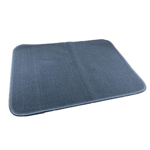joyMerit Montessori Teppich Kinderteppich Spielteppich Kinderspielteppich Flauschige Matte für Wohnzimmer Schlafzimmer Kinderzimmer - 110x70cm Blau