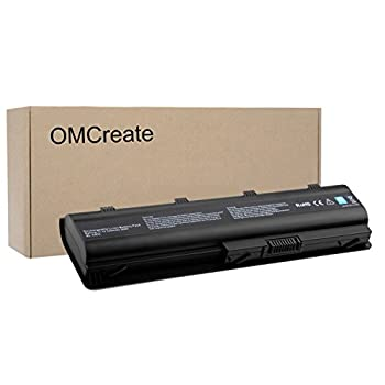 OMCreate Battery Compatible with HP MU06 593553-001 G62 G32 G42 G42T G56 G72 G4 G6 G6T G7 Compaq Presario CQ32 CQ42 CQ43 CQ56 CQ62