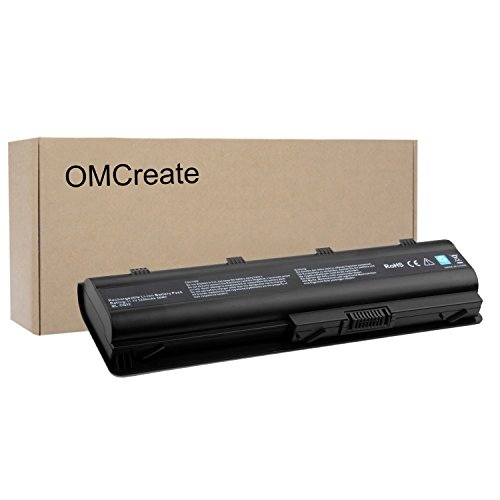 OMCreate Battery Compatible with HP Pavilion DV6-6135DX DV6-3077LA DV6-6C35DX DV6-6C48US DV6-6140US DV6-6033CL DV6-6B47DX DV6-3025DX DV6-3134NR DV6-6C53CL DV6-6104NR (not for All The DV6 Models)