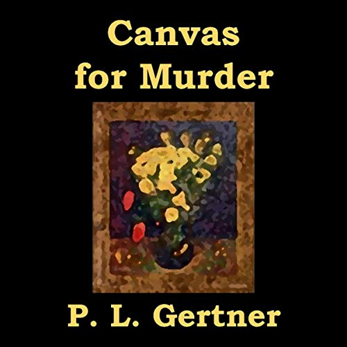 Canvas for Murder audiobook cover art