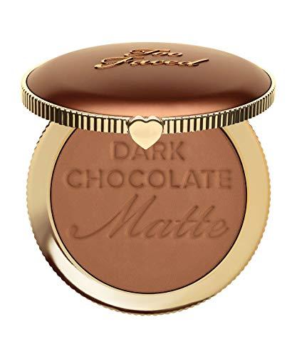 Too Faced - Dark Chocolate Soleil Deep/Tan Matte Bronzzer by Too Faced.