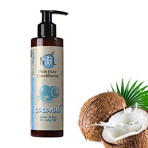 NGGL - Acondicionador vegano con aceite de coco 100% natural para pelo...