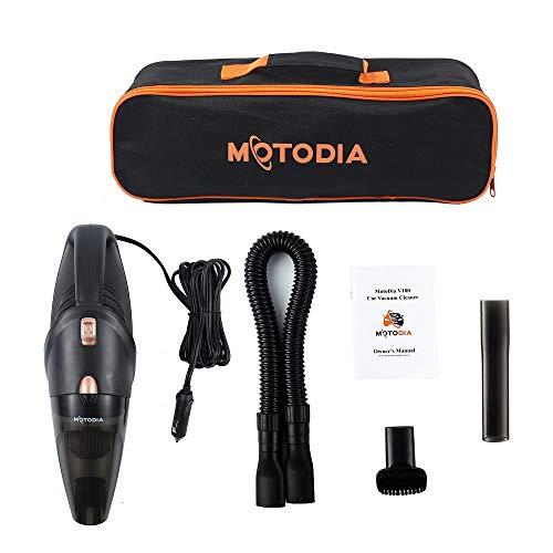 MotoDia V100 Aspirateur portable pour voiture avec fonction humide et sec