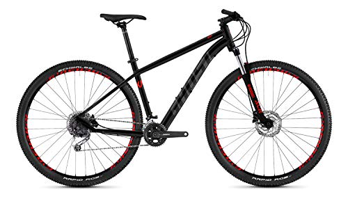 Ghost Kato 5.9 AL U 29R Mountain Bike 2020 (M/46cm, Night Black/Titanium Grey/Riot Red)