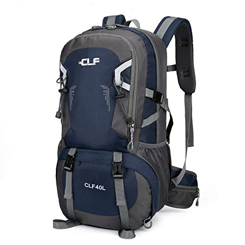 CLF 40L Outdoor Backpack Navy with Shoe Compartment
