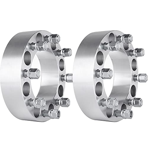SCITOO 2X 8x6.5 to 8x6.5 Wheel Spacers 2' 8 Lug fit for Dodge for Ram 2500 3500...